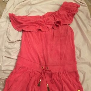 Juicy Couture Romper beach cover up